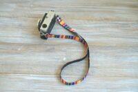 Rainbow stripes Camera Strap (4)-1