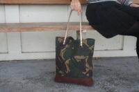 AUT- Camo Wax Canvas Tote Bag (10)