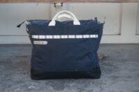 OASIS- Navy Blue Wax Canvas Bag (1)